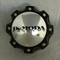 DEMODA CONCEPT BLACK WHEEL RIM INTIMIDATOR-2 CENTER CAP 100 HIGHT 6 LUG