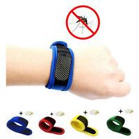 Anti-moustique insectifuge Bracelet bande de poignet Camping en plein air New IT