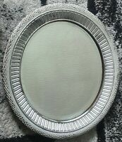 Heavy Vintage Silver Mirror/Antiques/Collectables