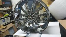 26 Inch Phino PH28 wheels Rims fit 5X115 Charger Magnum 300 Challenger Deal