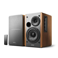 Edifier R1280T Powered Bookshelf Speakers, 2.0 Active Monitor Speaker System