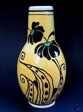 Boch Freres Art Deco Flower Vase