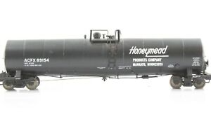 HO Athearn ACFX / Honeymeade Single-Dome Side Ladder Tank Car w/ Damage