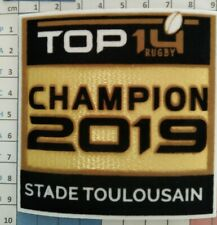 France Patch Badge officiel Top 14 Champion 2019 maillot Rugby 2019/20 Toulouse