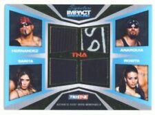 """SARITA ROSITA HERNANDEZ ANARQUIA""""QUAD MEMORABILIA /50"""" TNA SIGNATURE IMPACT"""