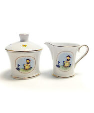 Hummel The Botanist Creamer Cup and Sugar Bowl