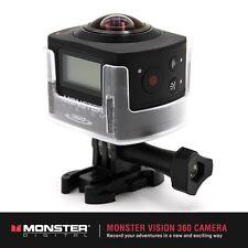 BRAND NEW MONSTER DIGITAL CAMVI-0360-A VISION 360 VIRTUAL REALITY CAMERA SET
