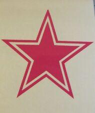 Dallas cowboys pink Decal Sticker Yeti, Rambler,Tumbler,Car,Truck buy2get1free