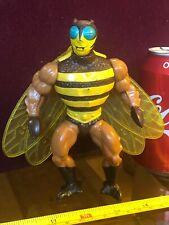 BUZZ OFF BEE HEMAN HE-MAN MOTU Action Figure Official Original Toy Vintage