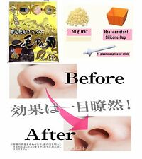 Japanese Hair Removal Nose Wax Kit for Men and Women Quick & Painless 12 times