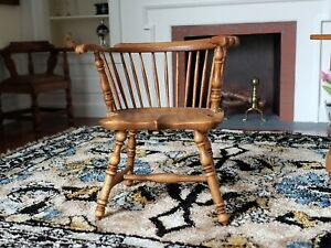 HTF RARE Dollhouse Miniature Artisan BIRKEMEIER Studio B Chair Signed #2 1:12