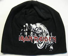 "IRON MAIDEN JERSEY BEANIE # 4 / MÜTZE / CAP ""THE NUMBER OF THE BEAST"""
