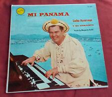 LUCHO AZCARRAGA Y SU CONJUNTO LP ORIG USA  MI PANAMA  CUMBIA ETC