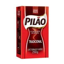 Pilao Brazilian Coffee Traditional Roast and Ground Cafe Brasileiro - 8.80 oz
