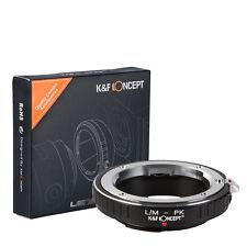 Leica M Lens to Pentax PK Mount Adapter Ring L/M-PK High Precision K&F Concept
