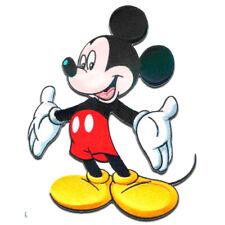 Aufnäher / Bügelbild - Mickey Mouse XL MICKY STEHEND Disney - schwarz -20x15cm