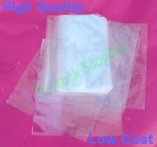 "500 pcs 6.5X10.5"" Polyolefin Shrink Film Wrap Flat Bags w/ Vent Hole Food Safe"