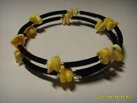 Baltic Amber bracelet for adult Handmade  5,50g P-43