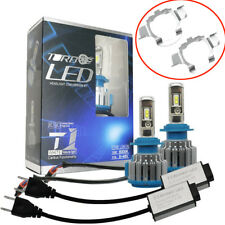 2X H7 LED Conversion Headlight Kit Bulbs Canbus Fog Light 170W 80000LM 6000K Car