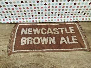 NEWCASTLE BROWN ALE VINTAGE BEER BAR TOWEL