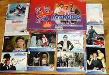 New Avengers UK TV Sealed Box of Autograph Trading Cards Strictly Ink (2006)