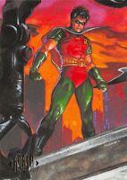 ROBIN / DC Comics Master Series (1994) BASE Trading Card #29