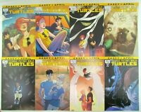 Teenage Mutant Ninja Turtles Casey & April Complete Set 1-4 + SUB Variants IDW