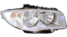 CONJUNTO FAROS DCHO/IZQDO  BMW SERIE 1 06-12 H7/H7 FONDO CROMADO