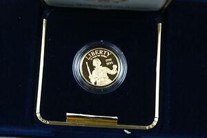 1991 1995 World War II $5 Gold Proof Half Eagle Commemorative Coin OGP