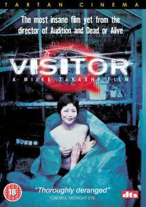 Visitor Q UK REGION 2 DVD (2013) Ken'ichi E