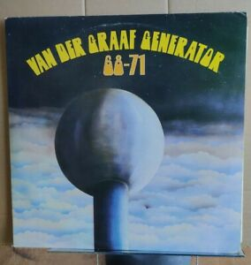 VAN DER GRAAF GENERATOR 68-71 - V. RARE DOUBLE WHITE LABEL 1ST PRESS - EX+