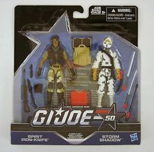 Hasbro G.I.Joe 50th Anniv. Classic Clash - Spirit v Storm Shadow Figures