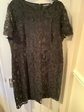 Ladies Dorothy Perkins Cocktail Lace Dress Size 20