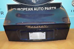 02-06 M138 MASERATI COUPE GT TRUNK LID LIFT GATE SHELL DARK BLUE OEM