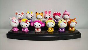 HELLO KITTY Chinese Zodiac Series Mini Toys - Set of 12 Toys