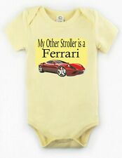 My Other Stroller is a Ferrari Baby Bodysuit Creeper New Adorable Gift