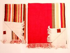 MISSONI HOME Set of 2 SPUGNA Fringe GUEST & HAND Towels FREE SHIPPING
