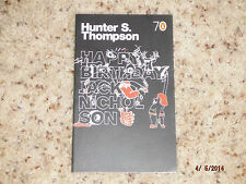 Hunter S Thompson Happy Birthday Jack Nicholson Original Rare gonzo hst