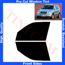 Pre Cut Window Tint Mercedes ML W163 5 Doors 1998-2005 Front Sides Any Shade