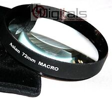 72mm Macro +10 Close-Up Glass Lens Filter No.10 72 mm New