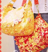PATTERN - Prairie Rose - classic styled ladies bag PATTERN
