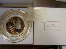 Avon Betsy Ross Collector Plate 1973 Mib