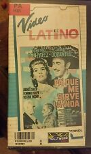 VIDEO LATINO PA'QUE ME SIRVE LA VIDA. DEMETRIO GONZALEZ... RARE SPANISH VIDEO.