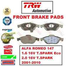 FOR ALFA ROMEO 147 1.6 Eco 2.0 16V T.SPARK 2001-2010 FRONT AXLE BRAKE PADS SET