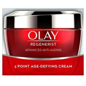 Olay Regenerist Advanced Anti-Ageing 3 Point Age Defying Cream Fragrance Free