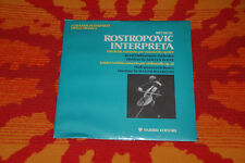 ♫♫ Rostropovich * Dvorak Saint-Saens, Cello Concertos, Fabbri Editori NOS OVP ♫♫