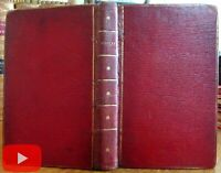 Fore-edge painting England Dawlish seaside town c.1805 Hayley leather book