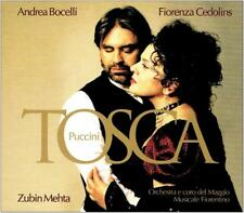 Coffret 2 CD - PUCCINI - TOSCA / Zubin Mehta, Andrea Bocelli, Fiorenza Cedolins