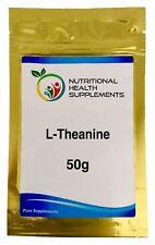 L-Theanine 50g Bulk Powder
