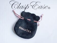 GENUINE PANDORA Velvet Pouch Charm Bracelet Bag Jewellery